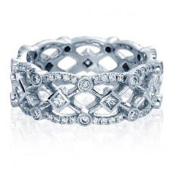 Verragio Eterna-4026P Platinum Wedding Ring / Band