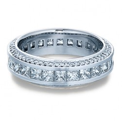 Verragio Platinum Eterna Wedding Band Eterna-4007 M