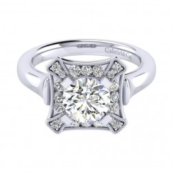 Gabriel 14 Karat Perfect Match Engagement Ring ER009C6AEW44JJ