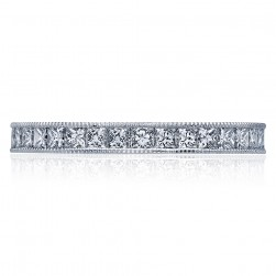 Tacori 45-25ET 18 Karat Sculpted Crescent Diamond Wedding Band