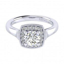 Gabriel 14 Karat Perfect Match Engagement Ring ER009B3ABW44JJ