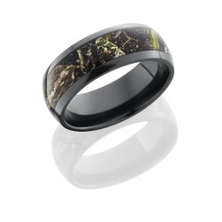Lashbrook Z8D15/MOCOB POLISH Camo Wedding Ring or Band
