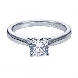 Gabriel Platinum Contemporary Engagement Ring ER6641PTJJJ