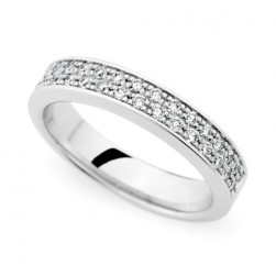 246874 Christian Bauer 18 Karat Diamond  Wedding Ring / Band