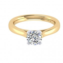 Gabriel 14 Karat Contemporary Engagement Ring ER6685M4JJJ