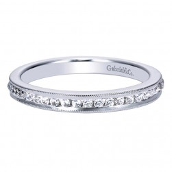 Gabriel 14 Karat Contemporary Wedding Band WB8007W44JJ