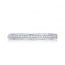 305-25 Tacori Platinum Starlit Diamond Wedding Ring