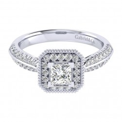 Gabriel 14 Karat Perfect Match Engagement Ring ER002A2ALW44JJ
