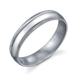 273351 Christian Bauer Platinum Wedding Ring / Band