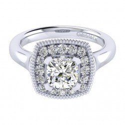 Gabriel 14 Karat Perfect Match Engagement Ring ER009C6AKW44JJ
