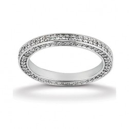 Eternity Diamond Band 14 Karat Taryn Collection TQD 6-1-464