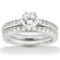 Taryn Collection Platinum Diamond Engagement Ring TQD A-1371