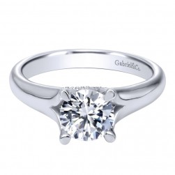 Gabriel 14 Karat Contemporary Engagement Ring ER10250W4JJJ