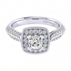 Gabriel 14 Karat Perfect Match Engagement Ring ER002B3AKW44JJ