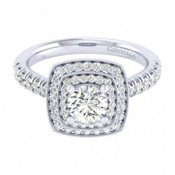 Gabriel 14 Karat Perfect Match Engagement Ring ER039B3AGW44JJ