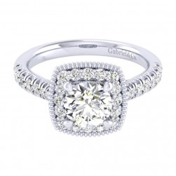 Gabriel 14 Karat Perfect Match Engagement Ring ER039B4ABW44JJ