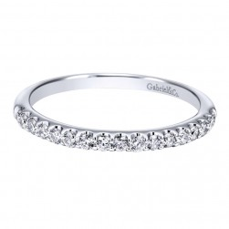 Gabriel 14 Karat Contemporary Wedding Band WB911885R0W44JJ