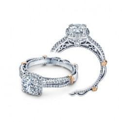 Verragio Parisian-110CU Platinum Engagement Ring