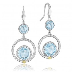 SE14902 Tacori 18k925 Island Rains Earrings