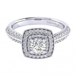 Gabriel 14 Karat Perfect Match Engagement Ring ER002A2AGW44JJ