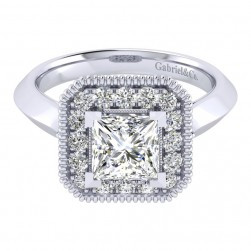 Gabriel 14 Karat Perfect Match Engagement Ring ER001C6ALW44JJ