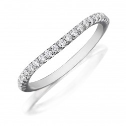 Henri Daussi WBDS Diamond Wedding Ring