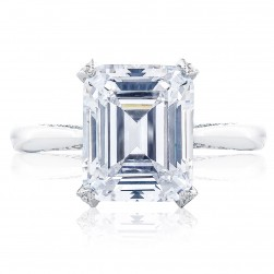 HT2625EC105X85 Platinum Tacori RoyalT Engagement Ring