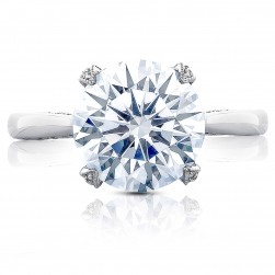 HT2625RD10 Platinum Tacori RoyalT Engagement Ring