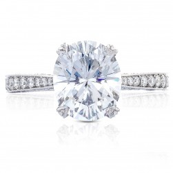 HT2626OV10X85 Platinum Tacori RoyalT Engagement Ring