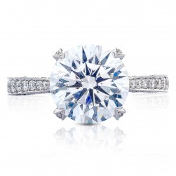 HT2626RD10 Platinum Tacori RoyalT Engagement Ring