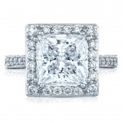 HT2650PR9 Platinum Tacori RoyalT Engagement Ring