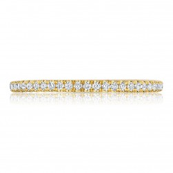 Tacori HT254515B34Y 18 Karat Petite Crescent Diamond Wedding Band
