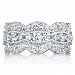 Tacori HT2616B12 18 Karat Adoration Diamond Wedding Band