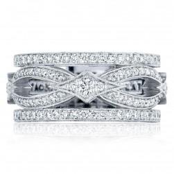 Tacori HT2617B12 18 Karat Adoration Diamond Wedding Band