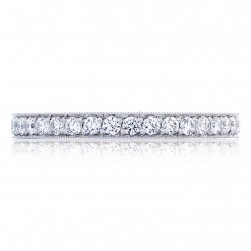 Tacori HT2626B34 Platinum RoyalT Wedding Ring