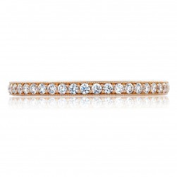 Tacori HT2627B34PK 18 Karat RoyalT Wedding Ring