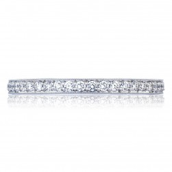 Tacori HT2627B 18 Karat RoyalT Wedding Ring