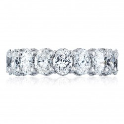 Tacori HT2638W65 18 Karat RoyalT Wedding Ring