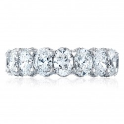 Tacori HT2639W65 Platinum RoyalT Wedding Ring