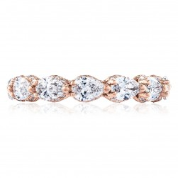 Tacori HT2642PK65 18 Karat RoyalT Wedding Ring