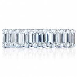 Tacori HT2645W65 18 Karat RoyalT Wedding Ring
