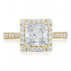 Tacori HT2650PR7Y 18 Karat Yellow RoyalT Engagement Ring