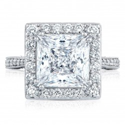Tacori HT2652PR9 18 Karat RoyalT Engagement Ring
