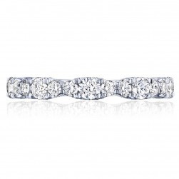 Tacori HT2653B34 Platinum RoyalT Wedding Ring