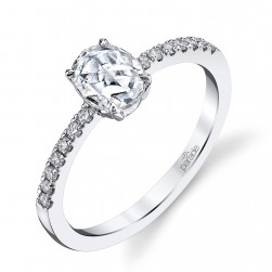 Parade Lumiere Bridal Platinum Diamond Engagement Ring LMBR3998/O