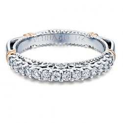 Verragio Parisian-103SW 18 Karat Wedding Ring / Band