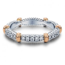 Verragio Parisian-W102 Platinum Diamond Eternity Ring / Band