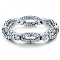 Verragio Parisian-W103R 18 Karat Diamond Eternity Ring / Band