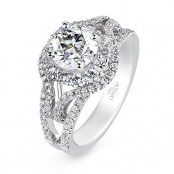 Parade Hemera Bridal R2991 Platinum Diamond Engagement Ring