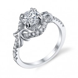 Parade Lyria Bridal R2951 18 Karat Diamond Engagement Ring